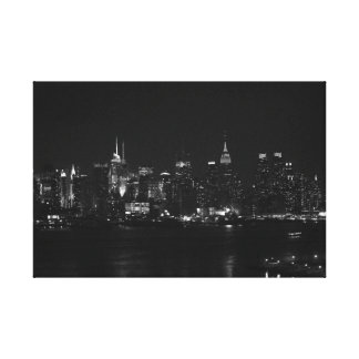NYC black and white Canvas Print