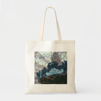 NYC Bryant Park Merry Go Round Photo Tote Bag