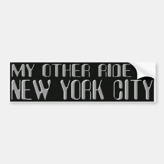 NYC BUMPER STICKER