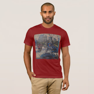 NYC Central park and Carriage T-Shirt