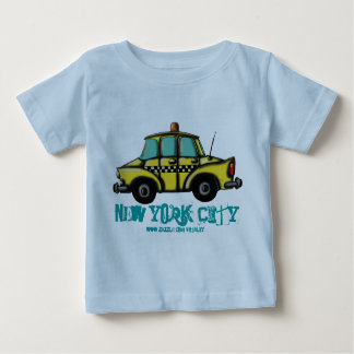 NYC checker cab baby t-shirt