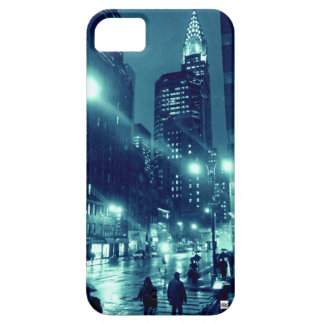 NYC Chrysler Rain iPhone 5 Case-Mate Case