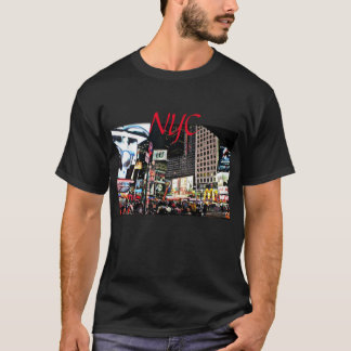 NYC City Lights and Signs and nightlife T-Shirt