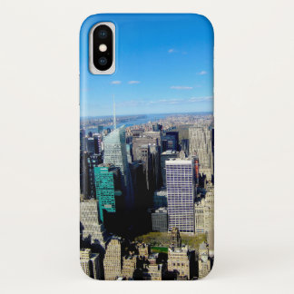 NYC City View From Empire State Building iPhone X Case
