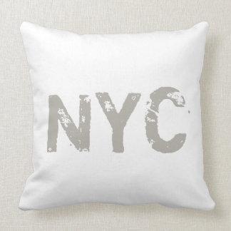 NYC CricketDiane Street Style Graffiti New York Throw Cushions