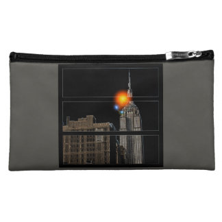 NYC Eclipse Sky Printed Cosmetic Bag