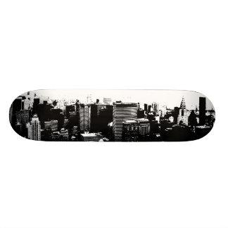 NYC Empire Skyline Custom Skate Board