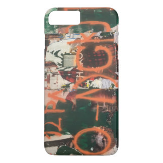 NYC Garment District Graffiti Spraypaint Urban Art iPhone 8 Plus/7 Plus Case