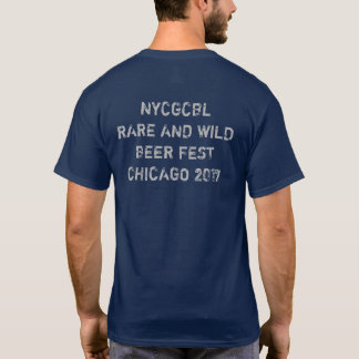 NYC Gay Beer Club- Chicago Beer Fest t-shirt