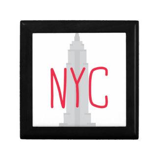 NYC SMALL SQUARE GIFT BOX