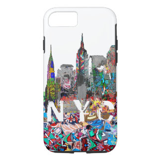 NYC graffiti iPhone 8/7 Case