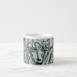 NYC Graffiti Photo Espresso mug by Brad Hines
