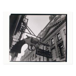 NYC Gunsmith Photo by Berenice Abbott Postcard