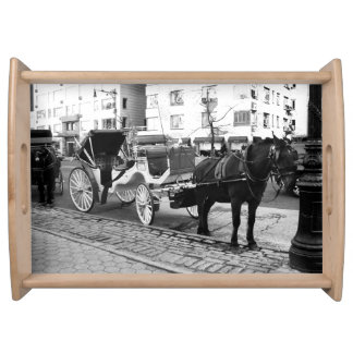 NYC Horse and Carriage Central Park Gifts Serving Platter