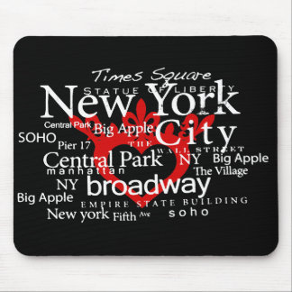 NYC in my Heart Mousepad