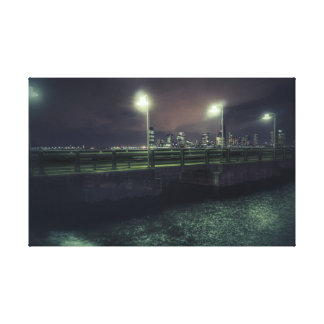 NYC - In the dark Canvas Print