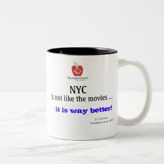 NYC is not like the movies Mug