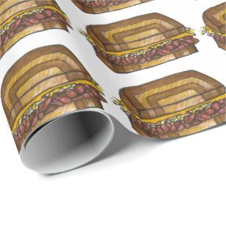 NYC Jewish Deli Reuben Sandwich Foodie Gift Wrap