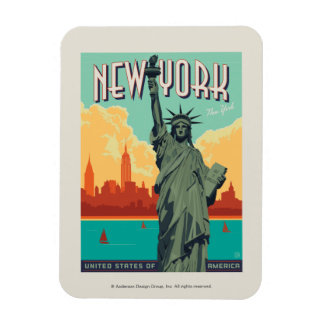 NYC - Lady Liberty Magnet