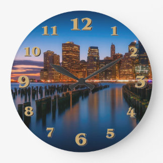 NYC LARGE CLOCK