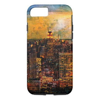 NYC Lights with Texture iPhone 7 Case