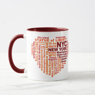 NYC mugs - choose style & color