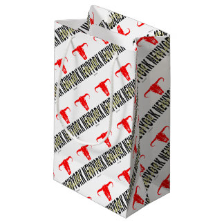 NYC New York City Bull by VIMAGO Small Gift Bag