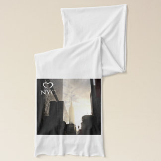 NYC New York City Empire State Building scarf