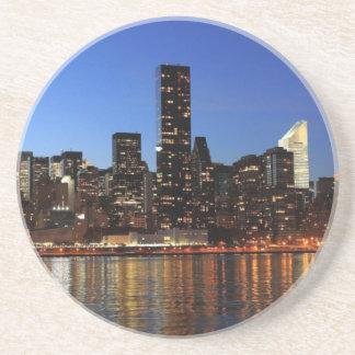 NYC New York City Manhattan Night Coaster