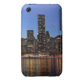 NYC New York City Manhattan Night iPhone 3 Cover