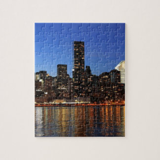 NYC New York City Manhattan Night Jigsaw Puzzle