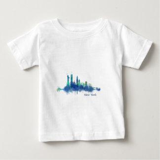 NYC New York Skyline v5 Baby T-Shirt
