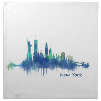 NYC New York Skyline v5 Napkin