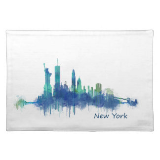 NYC New York Skyline v5 Placemat