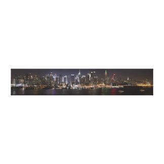 NYC Night Lights Canvas Prints
