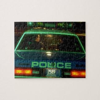 NYC Police 1980's Jigsaw Puzzle