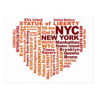 NYC postcard - customizable