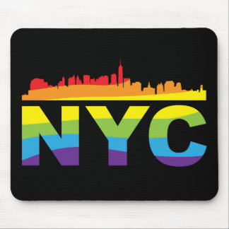 NYC Pride Rainbow Mouse Pad
