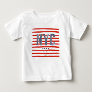 NYC | Red, White & Blue Design Baby T-Shirt