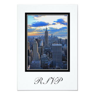 NYC Skyline as Sunset Approaches RSVP #1 Card