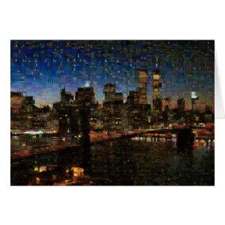 NYC Skyline Card