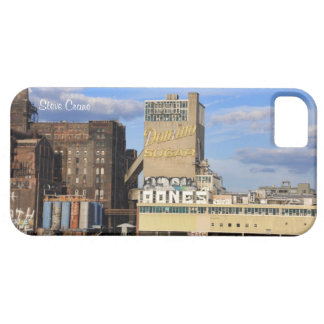 NYC Skyline Domino Sugar Factory, Graffiti iPhone 5 Cases