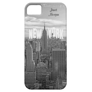 NYC Skyline Empire State Building, Wld Trd BW 2C2 iPhone 5 Covers