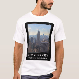 NYC Skyline Empire State Building, World Trade 1C T-Shirt