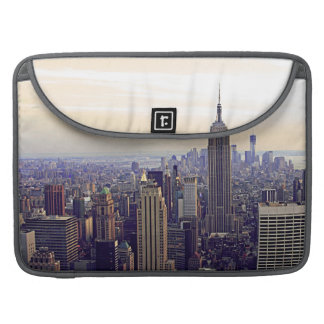 NYC skyline Empire State Building, WTC 4V Sleeve For MacBooks