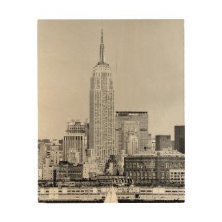 NYC Skyline IV Wood Wall Art