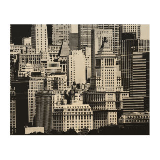 NYC Skyline IX Wood Wall Art