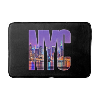 NYC Skyline (Light) Bath Mat