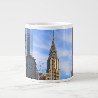 NYC Skyline: Midtown View of the Chrysler Building Jumbo Mug