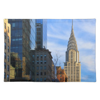 NYC Skyline: Midtown View of the Chrysler Building Placemat